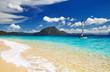 Fototapete Segel - Sand - Insel