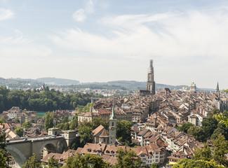 Berner Altstadt, Bern, Rosenberg, Münster, Schweiz
