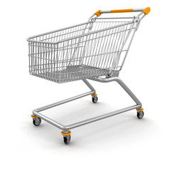 Shopping Cart (clipping path included)