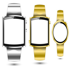 Smartwatch Vektorset