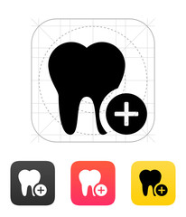 Add tooth icon.