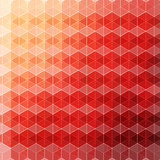 Vector pattern of geometric shapes background. Colorful mosaic b