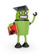 Robot student