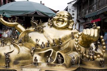 Hangzhou - Statua di Buddha