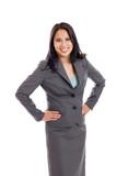 Confindent late 30s Asian businesswoman portrait