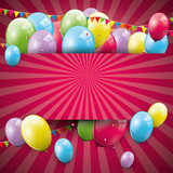 Fototapety Sweet birthday background