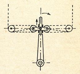 Tiller with tiller lines