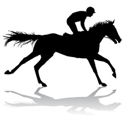 jockey on horse 6