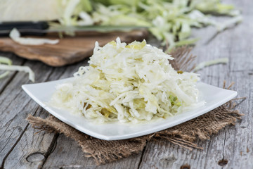 Fresh made Coleslaw