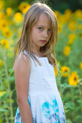 Beauty young girl portrait