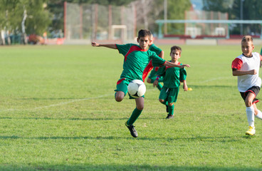 kids football match