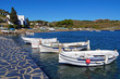 Traditional Mediterranean fishing boats