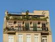 Altbau mit bepflanzten Balkons in Istanbul Beyoglu