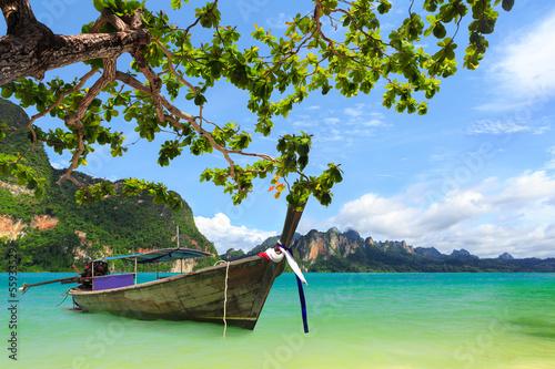 Zdjęcia na płótnie, fototapety na wymiar, obrazy na ścianę : Tropical beach, Krabi, Thailand