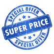 Super price stamp
