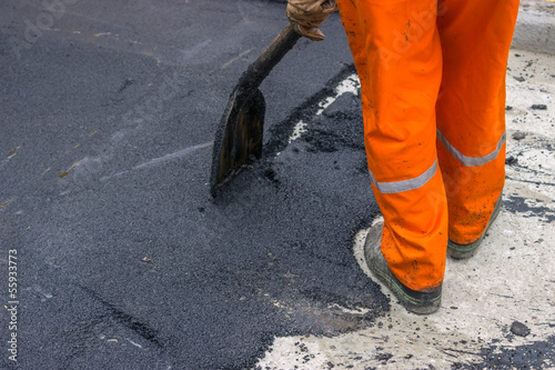 Asphalt worker 2