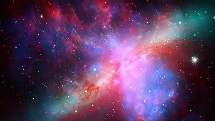 Space Nebula Seamlessly Looped Background