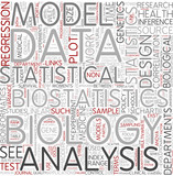 Biostatistics Word Cloud Concept