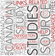 Canadian studies Word Cloud Concept