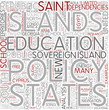 Education policy Word Cloud Concept