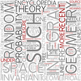 Integral geometry Word Cloud Concept