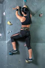 Climbing the wall
