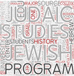 Jewish studies Word Cloud Concept