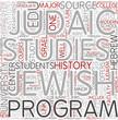 Jewish studies Word Cloud Concept