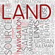 Land management Word Cloud Concept