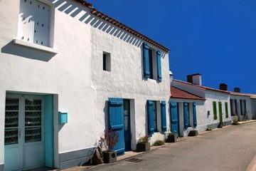 Maisons typiques du bord de mer.