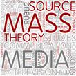 Mass communication Word Cloud Concept