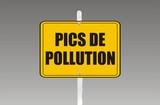 panneau pics de pollution