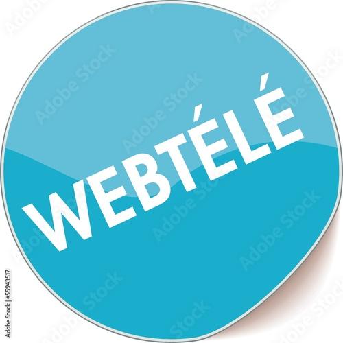 étiquette webtélé