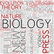Philosophy of biology Word Cloud Concept
