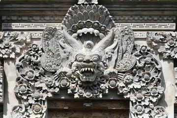 Bali - démon (sculpture)