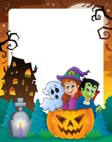 Halloween theme frame 2