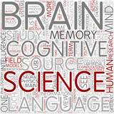 Cognitive science Word Cloud Concept