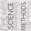 Computational mathematics Word Cloud Concept