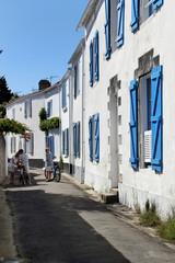 Le quartier de Banzeau à Noirmoutier.