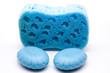 Blaue Seife
