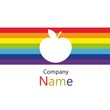 Rainbow apple business name