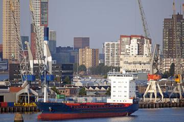 Skyline von Rotterdam, Niederlande
