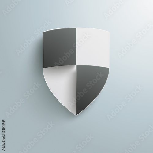 Protection Shield Infographic Design