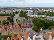 The Holstentor a tower of defense in Lubeck