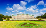 Belvedere -  a palace complex in Vienna in Baroque style