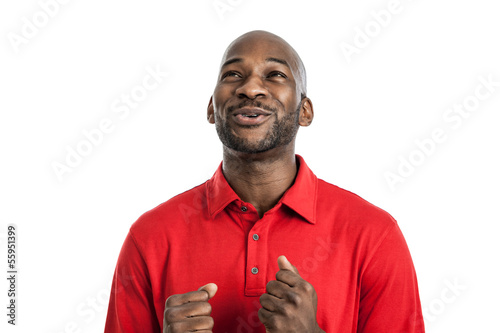 Happy Black Man Portrait