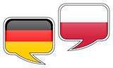 Fototapety Deutsch-Polnische Gespräche