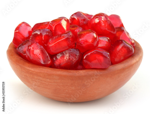 Red Pulp of pomegranate