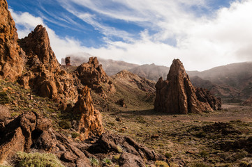 Rocky Cathedral of Teide