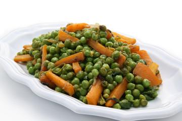 petis pois et carottes